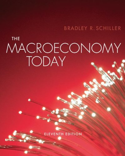 Macro Economy Today  11th 2008 9780073287119 Front Cover