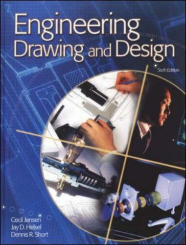 Engineering Drawing and Design 2002  6th 2002 9780078266119 Front Cover
