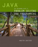 Java An Introduction to Problem Solving and Programming 7th 2015 edition cover
