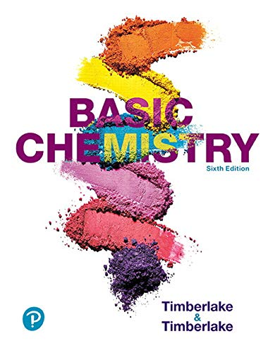 Basic Chemistry:   2019 9780134878119 Front Cover