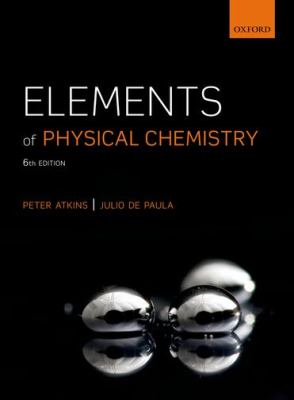Elements of Physical Chemistry:  6th 2015 edition cover
