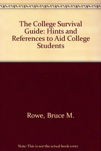 College Survival Guide  3rd 1995 9780314045119 Front Cover