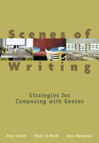 Scenes of Writing Strategies for Composing with Genres  2004 edition cover