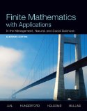 Finite Mathematics with Applications in the Management, Natural, and Social Sciences Plus NEW MyMathLab with Pearson EText -- Access Card Package  11th 2015 edition cover