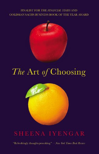 Art of Choosing   2011 edition cover