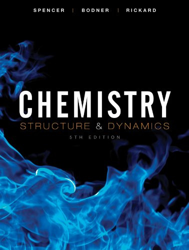 Chemistry Structure and Dynamics 5th 2011 edition cover