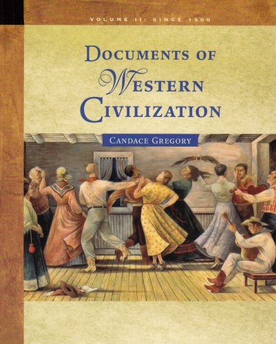Documents of Western Civilization  6th 2006 edition cover