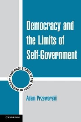 Democracy and the Limits of Self-Government   2010 edition cover