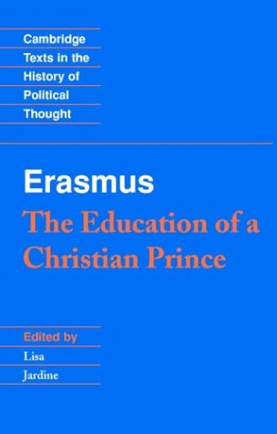 Erasmus The Education of a Christian Prince  1997 edition cover
