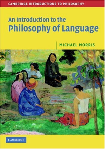 Introduction to the Philosophy of Language   2007 edition cover