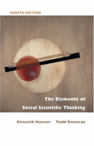 Elements of Social Scientific Thinking  8th 2004 (Revised) edition cover