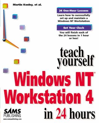 Sams Teach Yourself Windows NT 4 Workstation in 24 Hours   1997 9780672310119 Front Cover