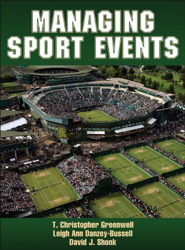 Managing Sports Events   2013 edition cover
