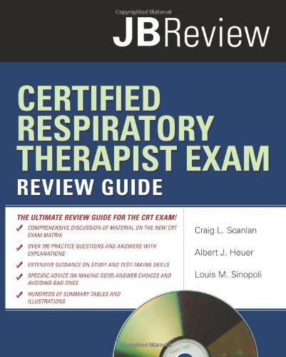 Certified Respiratory Therapist Exam   2010 (Guide (Instructor's)) edition cover