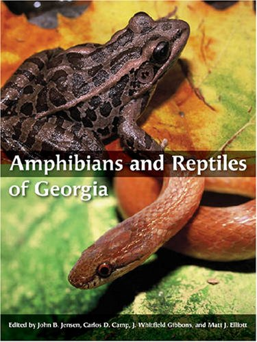 Amphibians and Reptiles of Georgia   2008 edition cover