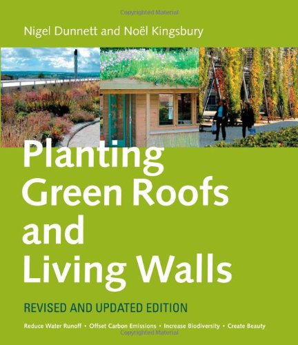 Planting Green Roofs and Living Walls  2nd 2008 edition cover