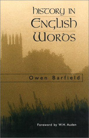 History in English Words  2nd 1967 (Revised) edition cover