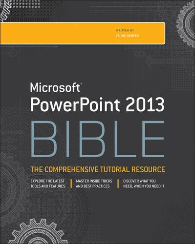 PowerPoint 2013 Bible  4th 2013 edition cover