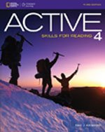 ACTIVE SKILLS FOR READING.:BOOK 4-4 CDS N/A 9781133308119 Front Cover