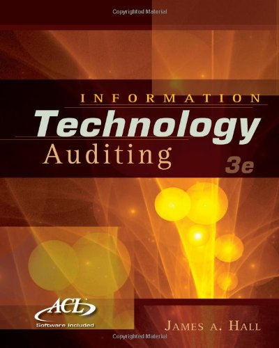 Information Technology Auditing  3rd 2011 edition cover
