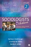 Sociologists in Action Sociology, Social Change, and Social Justice 2nd 2014 edition cover