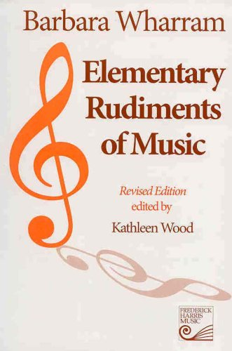 Elementary Rudiments of Music  2005 edition cover