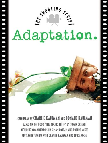 Adaptation The Shooting Script  2002 (Movie Tie-In) edition cover