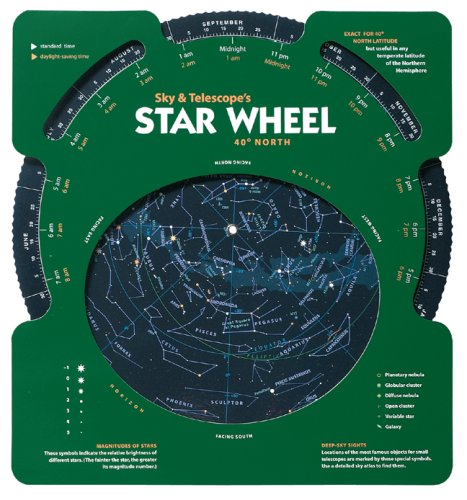Sky and Telescope's Star Wheel   2007 edition cover