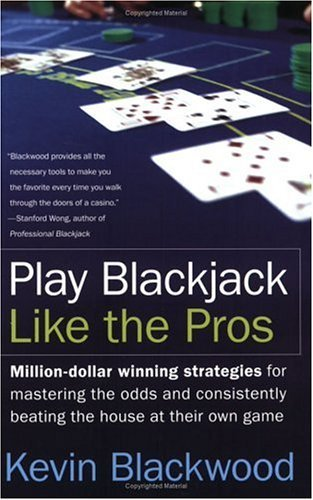 Play Blackjack Like the Pros   2005 9780060731120 Front Cover