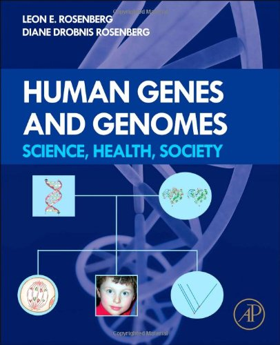 Human Genes and Genomes Science, Health, Society  2012 edition cover