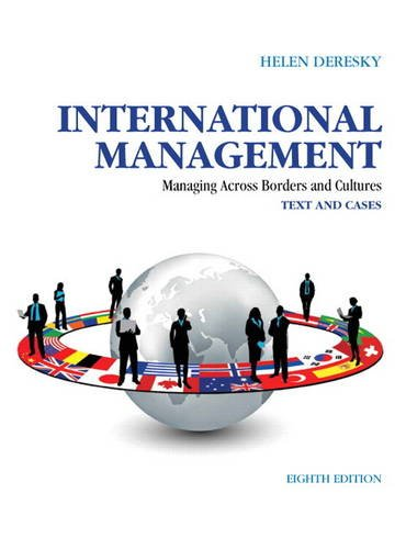 International Management Managing Across Borders and Cultures: Text and Cases 8th 2014 9780133062120 Front Cover
