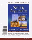 Writing Arguments, Brief Edition, Books a la Carte Edition  10th 9780133880120 Front Cover
