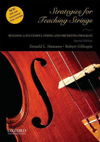 Strategies for Teaching Strings Building a Successful String and Orchestra Program 2nd 2009 edition cover