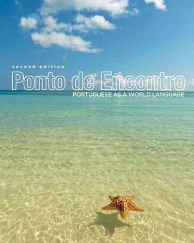 Ponto de Encontro Portguese as a World Language 2nd 2013 edition cover