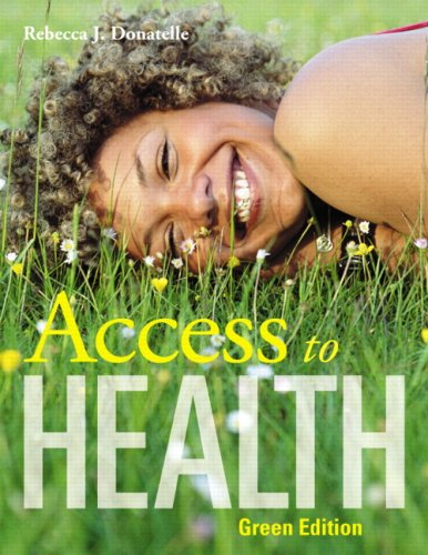 Access to Health, Green Edition  11th 2010 edition cover