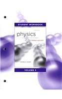 Student Workbook for Physics for Scientists and Engineers A Strategic Approach, Vol. 3 (Chs 20-24) 3rd 2013 (Revised) edition cover