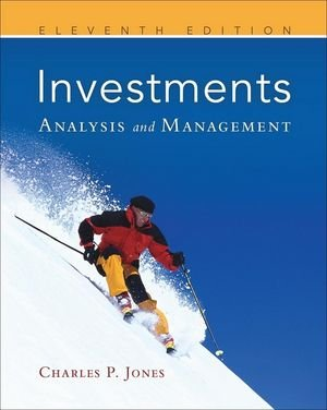 Investments Analysis and Management 11th 2010 edition cover