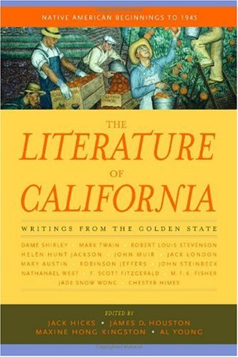 Literature of California Native American Beginnings to 1945  2000 edition cover