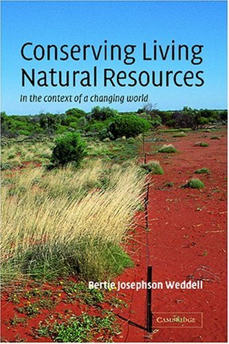 Conserving Living Natural Resources In the Context of a Changing World  2002 edition cover