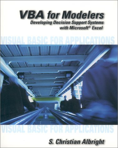 VBA for Modelers Developing Decision Support Systems Using Microsoft Excel  2001 edition cover