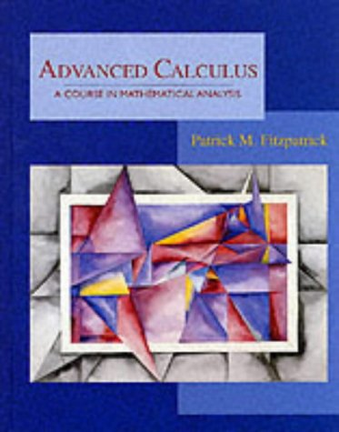 Advanced Calculus : A Course in Mathematical Analysis 1st 1996 edition cover