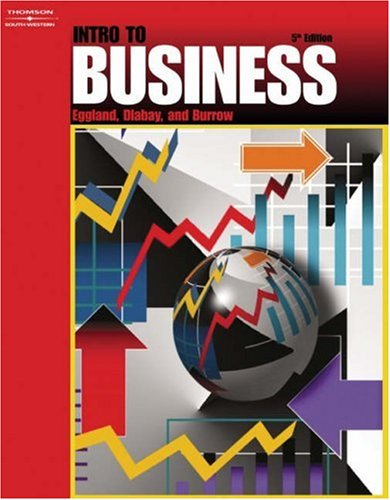 Intro to Business  5th 2004 (Revised) 9780538436120 Front Cover