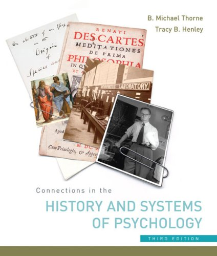Connections in the History and Systems of Psychology  3rd 2005 edition cover