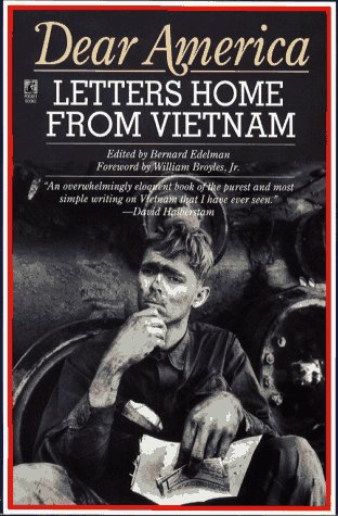 Dear America Letters From Vietnam N/A 9780671661120 Front Cover