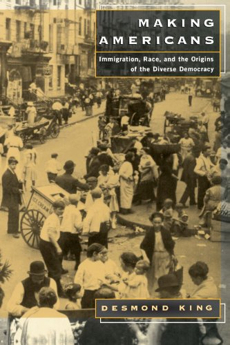 Making Americans Immigration, Race, and the Origins of the Diverse Democracy  2000 (Reprint) edition cover