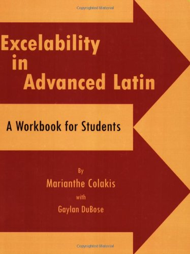 Excelability in Advanced Latin   2003 (Workbook) edition cover
