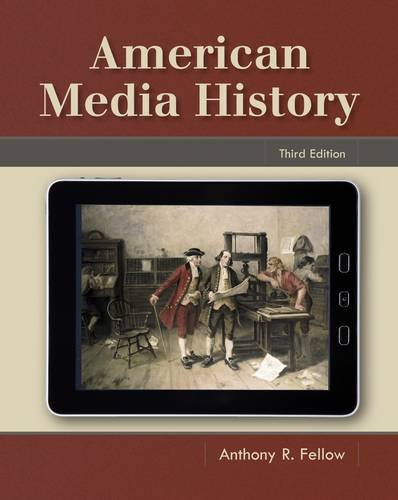 American Media History  3rd 2013 edition cover