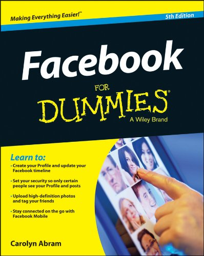 Facebook for Dummies�  5th 2013 edition cover