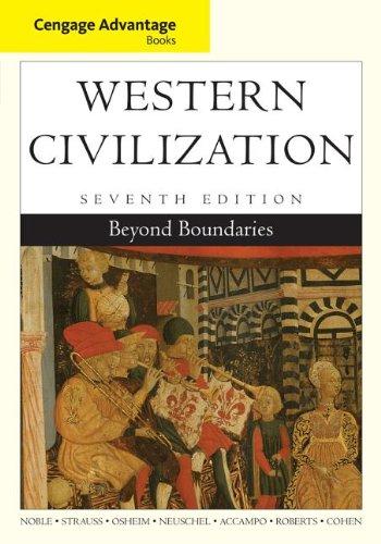 Western Civilization: Beyond Boundaries  2013 edition cover