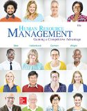 Human Resource Management:  10th 2016 9781259578120 Front Cover